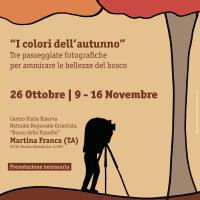 """Passeggiata fotografica """"Tutti i colori dell'autunno"""""""