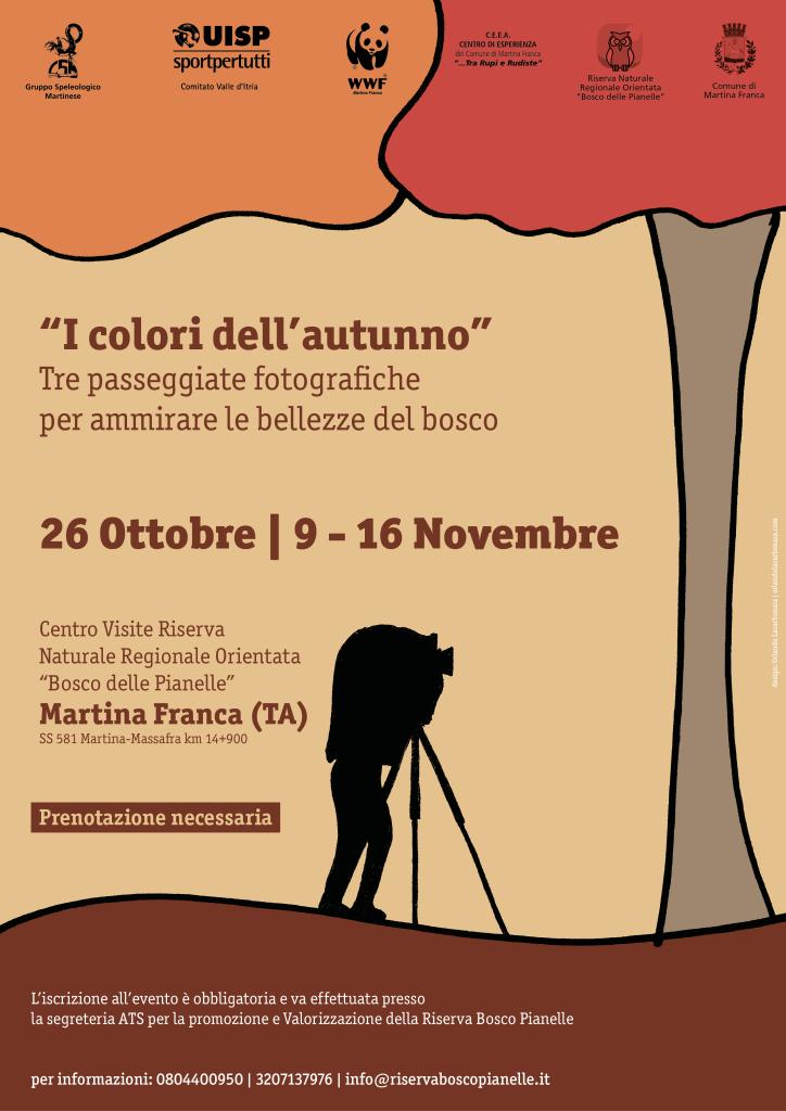 """Locandina """"Tutti i colori dell'autunno"""""""