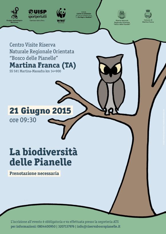 La biodiversità del Bosco Pianelle