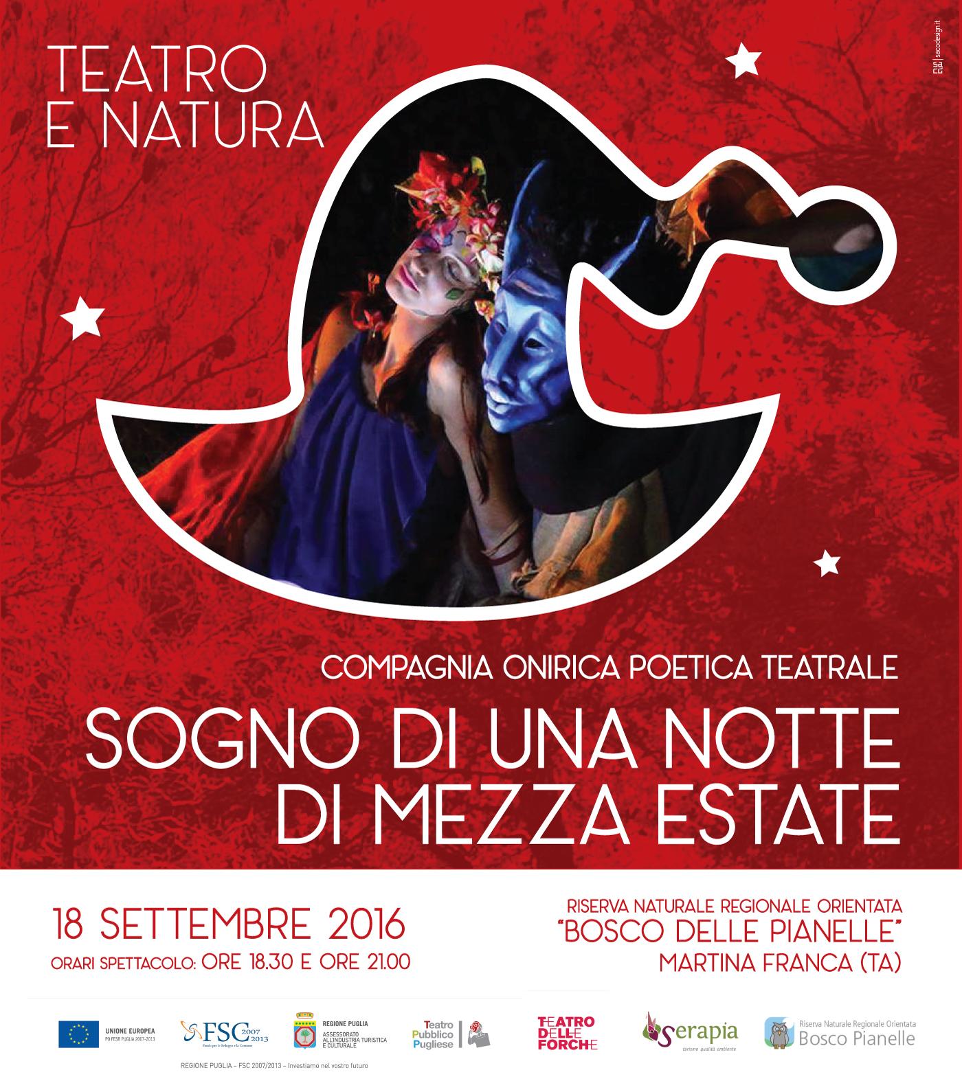 Teatro e natura: Sogno di una notte di mezza estate