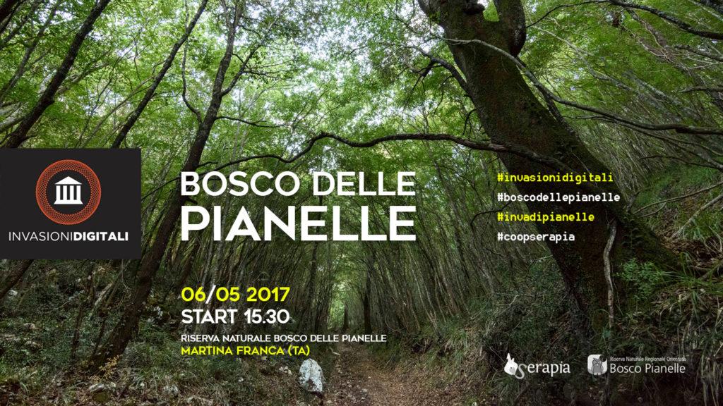 Invasione Digitale nel Bosco delle Pianelle