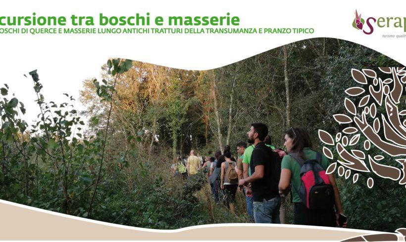 Escursione tra boschi e masserie