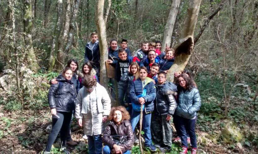 A scuola nel bosco