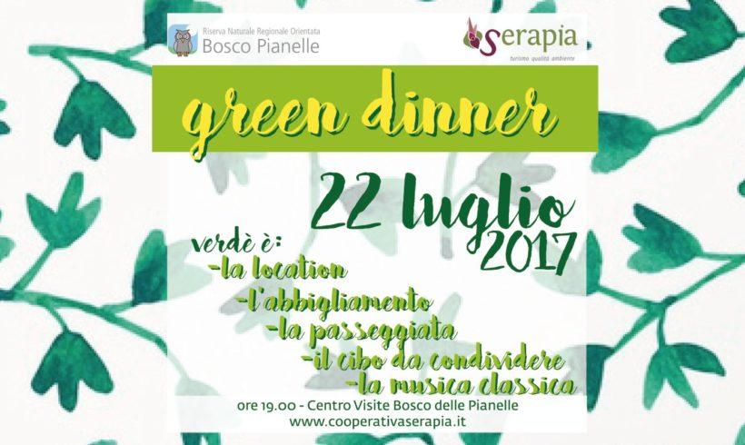 Cena verde al Bosco delle Pianelle